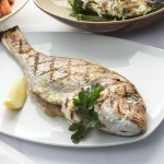 Grilled Baby Snapper