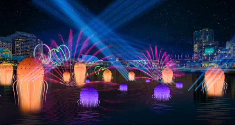 Vivid Sydney_Darling-Harbour